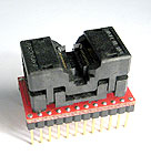 24 Pin TSOP Type 1 package socket to DIP. Pins are wired 1 to 1