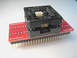 48 Contact TQFP QFP programming adapter.