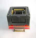 52 Pin PLCC socket to 52 PLCC component circuit board pads adapter