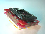 68 Pin PGA socket, to 68 pin PLCC