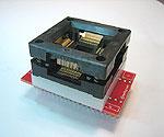 Microchip PIC18C858, PIC18F6620 (1 & 2), PIC18F8390 (3),  PIC18F8410, PIC18F8490 (3), PIC18F8520 (7), PIC18C8627, PIC18C86J60 (7), PIC18F8720 (2), PIC18F87J60 programming adapter.