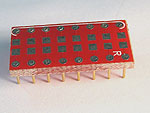 8 SMT Resistor or Capacitor sites to 300 mil DIP pin rows adapter.