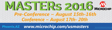 Microchip Masters 2016 Conference