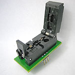 5 Pin MO-178 adapter with closed top ZIF socket