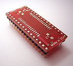 Aprilog SMPL-L32C, 32 pad SOIC package to DIP breadboard adapter.