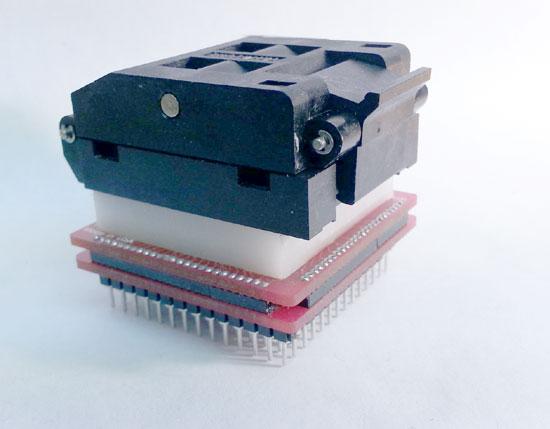 All types of socket breadboard adapters.