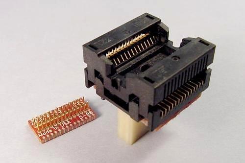SOIC & SOJ ZIF Socket to SMT Pads Adapters