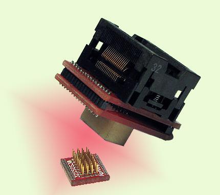 SSOP ZIF Socket to SMT Pads Adapters