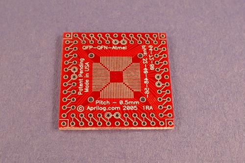 Multiple IC Packages Surface Mount breadboarding adapter.