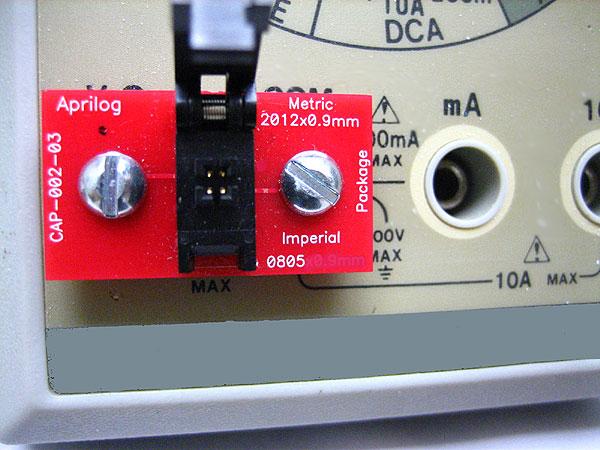 Aprilog meter banana jack socket adapter